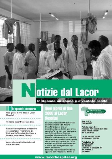 Notizie_dal_Lacor_2007_1.pdf - Fondazione ONLUS Piero e Lucille ...