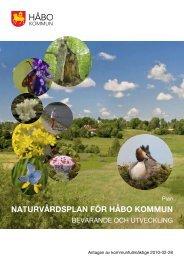 Naturvårdsplan (pdf-fil, 989kb, öppnas i nytt fönster) - Håbo kommun