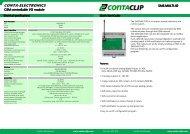 Short Instruction SMS-MULI I/O - Conta Clip