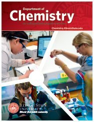 Department of Chemistry - Illinois State University
