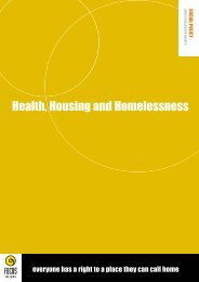 Download this Health, Housing and Homelessness ... - Focus Ireland