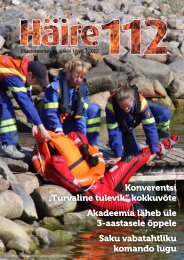 Häire 112 1/2012 - Päästeamet