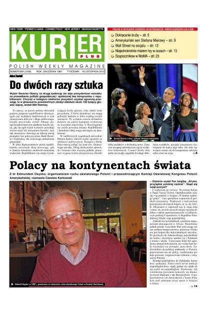 Polacy Na Kontynentach åwiata Kurier Plus