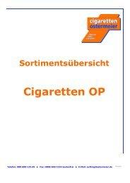 WG 1 Cigaretten 10-12 - Cigaretten Ostermeier