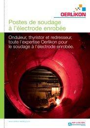 Postes de soudage à l'électrode enrobée - Air Liquide Welding