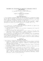 Regolamento Cosap e relativi allegati - Comune di Amalfi