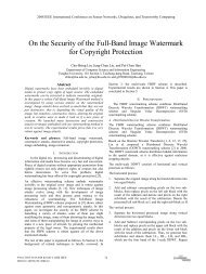 On the Security of the Full-Band Image Watermark for ... - IEEE Xplore