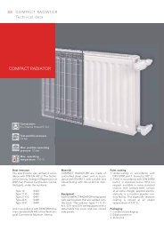 Technical information compact radiators - Vogelundnoot.com