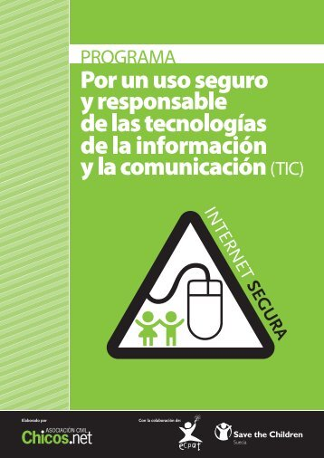 Por un uso seguro y responsable de las - ECPAT International