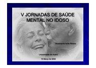 V JORNADAS DE SAÚDE MENTAL NO IDOSO - Socialgest