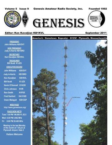 Judy A-Harris KB1SRO - Genesis Amateur Radio Society's