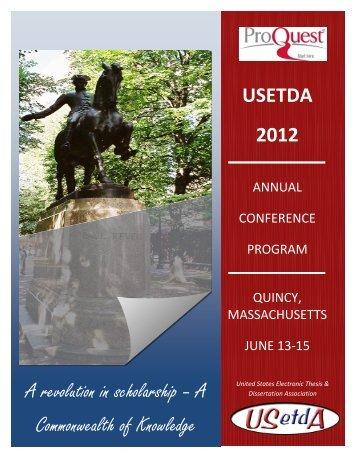 Conference program - usetda