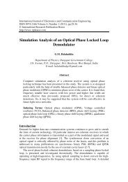 Simulation Analysis of an Optical Phase Locked Loop Demodulator