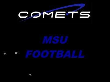 MSU FOOTBALL 2005 - Fast and Furious Football