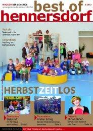 HERBSTZEITLOS - Gemeinde Hennersdorf