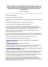 Décret n° 99-769 du 5 avril 1999, portant création de l ... - REME