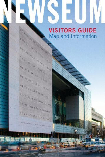 Newseum visitor guide pdf