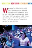 Newseum visitor guide pdf - Page 2