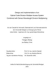 Design and Implementation of an Optical Code Division Multiple ...