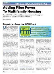 Adding Fiber Power To Multifamily Housing - Broadband Properties