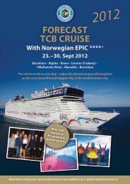 Forecast tcB cruise 2012 With Norwegian epic ****+ ... - Dennis Jale