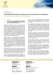 Balance Newsletter 02-2010