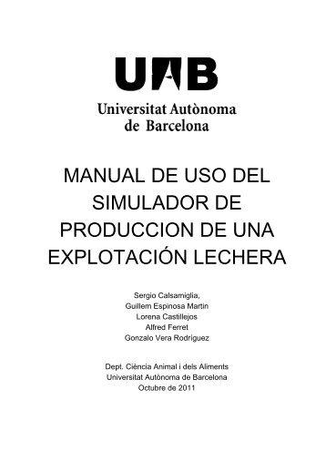 manual de uso del simulador de produccion de una explotación ...