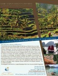 l'asie, séjour à bali et croisière - Agence voyage Louise Drouin