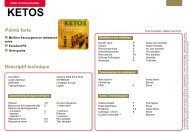 ketos - semences de céréales