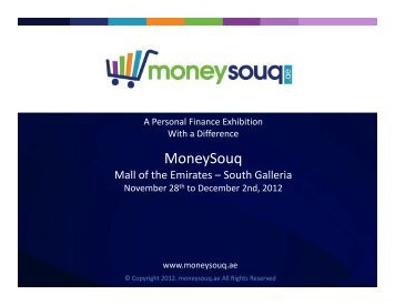 Mall of the Emirates – South Galleria - Money Souq