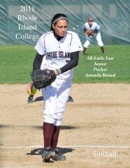 The 2011 Rhode Island College Softball Team