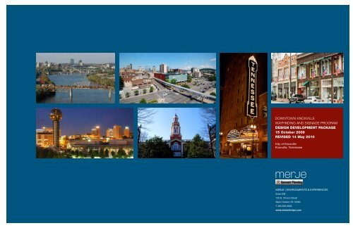 May 17, 2010 Design Development Package [PDF] - City of Knoxville