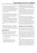 Gebruiksaanwijzing - miele Miele - Page 7