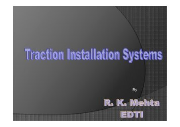 Traction Installation Systems