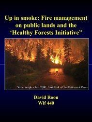 Healthy Forests Initiative