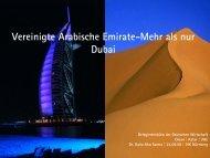 Vereinigte Arabische Emirate-Mehr als nur Dubai - IHK Nürnberg für ...