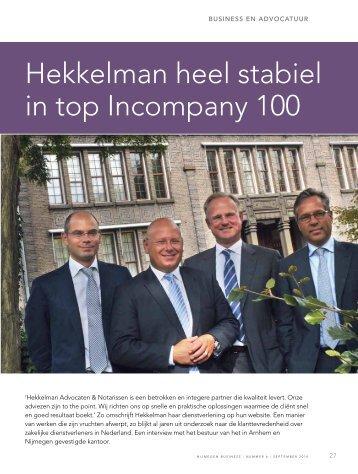 interview - Hekkelman Advocaten & Notarissen