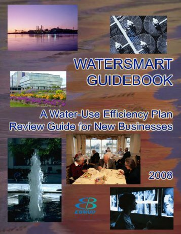 WaterSmart Guidebook - East Bay Municipal Utility District