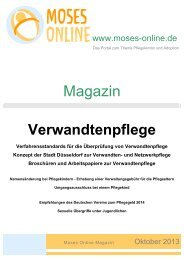 Moses Online Magazin - Oktober 2013