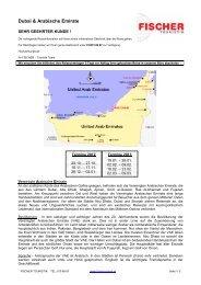 Dubai & Arabische Emirate 2012-13 - ++ fischer reisen ++
