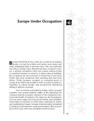 Europe Under Occupation 6