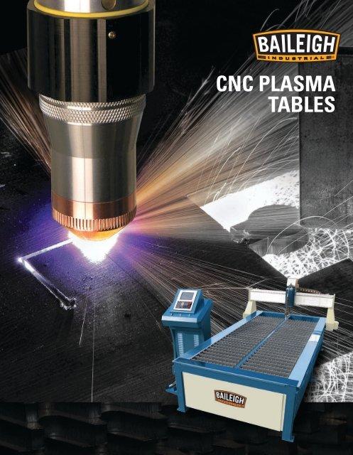 Cnc Plasma Tables Baileigh Industrial