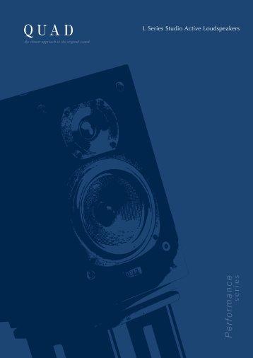 L Series Active Brochure; 06-2007 (698.4kb) - meridian-audio[.info]