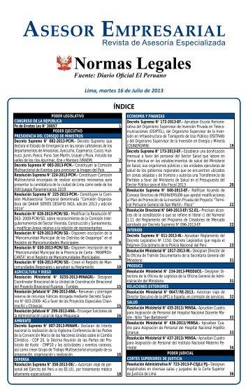 SUMILLA 16.indd - Revista Asesor Empresarial