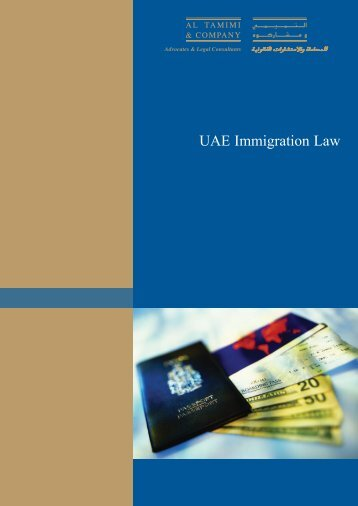 UAE Immigration Law - Italian Industry & Commerce Office in the UAE