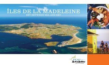 Brochure - Cruises - Tourisme aux Îles de la Madeleine