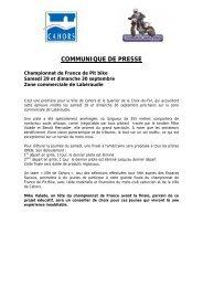 Championnat de France de Pit bike - Cahors