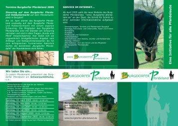 Info-Broschüre - Burgdorfer Pferdeland eV