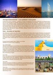Dubai und Vereinigte Arabische Emirate - Zumstein Reisen