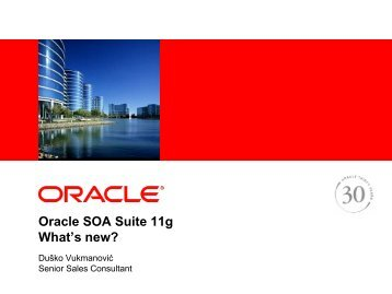 What's New in Oracle SOA Suite 11g - HrOUG